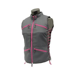 UTG TRUE HUNTRESS® Female Sporting Vest, Gray/Pink