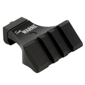 Warne Scope Mounts 45 Degree Offset Picatinny Mount Aluminum Black A645TW