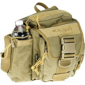 Drago Gear Hiker Shoulder Pack Tan 15-301TN