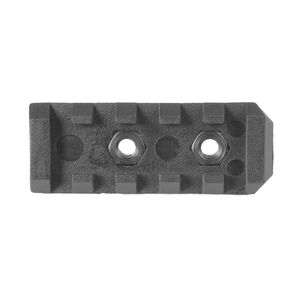 "Mission First Tactical AR-15 E-Volv Picatinny Rail Section 2.2"" Polymer Black E2PR2"