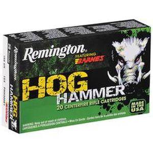 Remington .308 Win 168 Grain Barnes TSX 20 Round Box