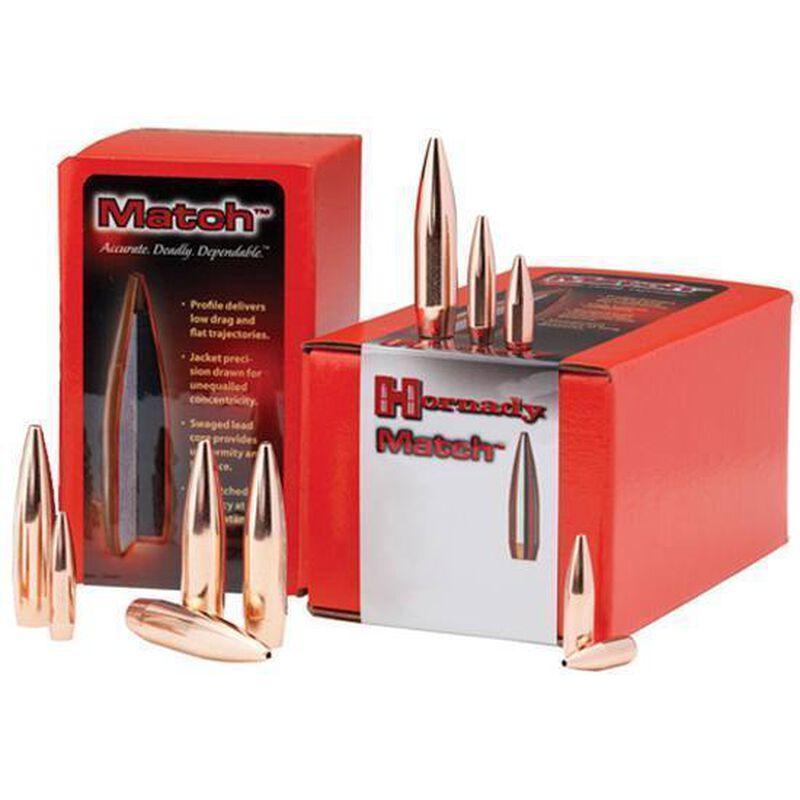 """Hornady 6.5mm Caliber .264"""" Diameter 140 Grain Match BTHP Bullet 500 Count 263355"""