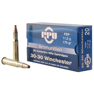 Prvi Partizan .30-30 Winchester Ammunition 20 Rounds 170 Grain FSP 2200fps