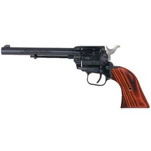 """Heritage Manufacturing Rough Rider Revolver .22 Long Rifle 6.5"""" Barrel 6 Rounds Cocobolo Grips Blue Finish"""