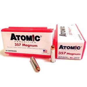 Atomic Ammunition .357 MAG 158 Grain BJHP 50 Round Box