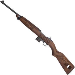 "Auto-Ordnance Vengeance M1 Carbine Semi Auto Rifle .30 Carbine 18"" Barrel 15 Rounds WWII Tribute Engraved Walnut Stock Parkerized Finish"