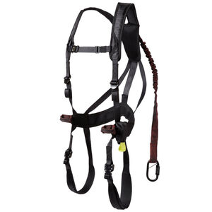 Gorilla Gear G-Tac Air Safety Harness One Size Black