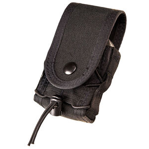 High Speed Gear Handcuff TACO Covered Belt Mount Black