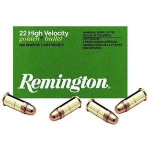 Remington High Velocity .22 Short Ammunition 100 Rounds Plated LRN 29 Grains 21001