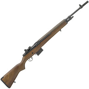 "Springfield Armory M1A Loaded 7.62 NATO Semi Auto Rifle 22"" National Match Barrel 10 Rounds Walnut Stock Parkerized Finish"