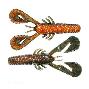 "Z-man Turbo Crawz Lures 4"" Length Molting Craw 6 Pack"