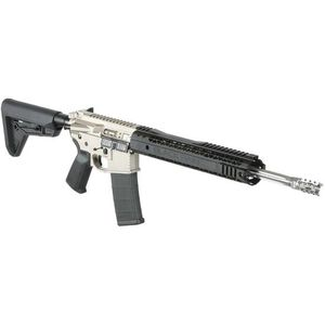 "Black Rain BRO Urban AR15 Semi Auto Rifle 5.56 NATO 16"" Fluted Barrel 30 Rounds M-LOK Handguard MOE SL Stock Black/Norguard Finish"