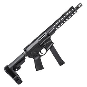"""Stag Arms PXC-9 9mm Luger AR15 Style Semi Auto Pistol 10"""" Barrel 32 Rounds Black"""