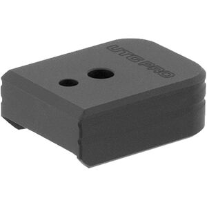 UTG PRO +0 Base Pad, S&W M&P 9/40, Matte Black Aluminum