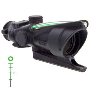 Trijicon ACOG 4x32 Dual Illuminated Green Donut .223 BAC Reticle