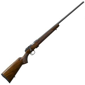 "CZ USA CZ 457 American .22 Long Rifle Bolt Action Rifle 24.8"" Barrel 5 Rounds DBM American Style Turkish Walnut Stock Black Finish"