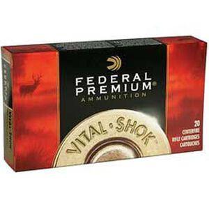 Ammo .300 Winchester Magnum Federal Vital-Shok Barnes Triple Shock X  Lead Free 180 Grain 20 Round Box 2960 fps
