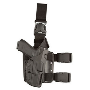 Safariland 7385 7TS ALS Tactical Holster Right Hand Fits GLOCK 17/34/41 with Light SafariSeven Black