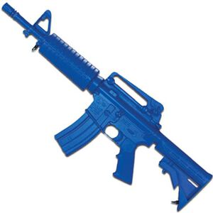 Rings Manufacturing BLUEGUNS M4 Colt Commando Closed Stock Rifle Carbine Replica Training Aid Blue FSM4CCS