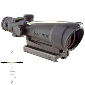 Trijicon ACOG TA11J-A Riflescope 3.5x35 Illuminated Amber Crosshair .223 Ballistic Reticle 1/3 MOA Aluminum Matte Black with TA51 Mount TA11J-A
