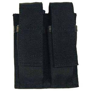BLACKHAWK! Belt Mounted Double Magazine Pouch Nylon Black 51PM01BK
