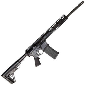 "ATI Omni Maxx P3P Hybrid AR-15 Semi Auto Rifle 5.56 NATO 16"" Barrel 30 Rounds Keymod Handguard Nano Composite LPK Collapsible Stock Black"