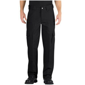 Dickies Tactical Relaxed Fit Straight Leg Canvas Pant Men's Waist 42 Inseam 34 Cotton Canvas Black LP702