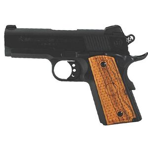 "American Classic Amigo 1911 Officer's Semi Automatic Pistol .45 ACP 3.5"" Barrel 7 Round Capacity Wood Grips Deep Blue Finish ACA45B"