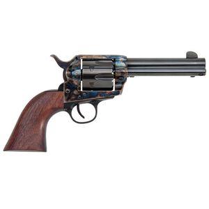 "Traditions 1873 Single Action Revolver .44 Magnum 4.75"" Barrel 6 Rounds Walnut Grip Case Hardened Blue Finish SAT73-800"