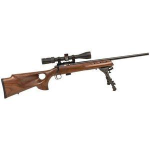 "Keystone 722 Varmint Bolt Action Rimfire Rifle .22 LR 20"" Barrel Target Chamber 7 Rounds Walnut Stock Blued KSA20030"
