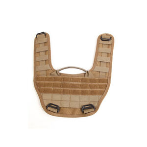 """High Speed Gear Modular Padded Shoulder Harness PALS Webbing 1"""" and 1.5"""" Webbing 6.5mm padding Cordura Coyote Brown"""