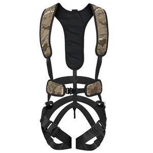 Hunter Safety System Bowhunter Tree Stand Safety Harness Nylon Large/XL Camo X-1 L/XL