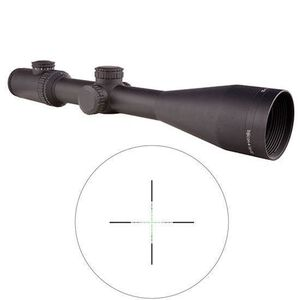 Trijicon AccuPower Rifle Scope 4-16x50 Illuminated Green Mil-Square Reticle Battery Matte Finish 1900023