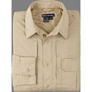 5.11 Tactical Women's Long Sleeve Taclite Shirt Cotton Polyester Medium Dark Navy 62070