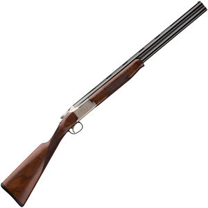 "Browning Citori 725 Feather Superlight 12 Gauge O/U Break Action Shotgun 26"" Barrels 2-3/4"" Chamber 2 Rounds Walnut Stock Silver Nitride/Blued Finish"