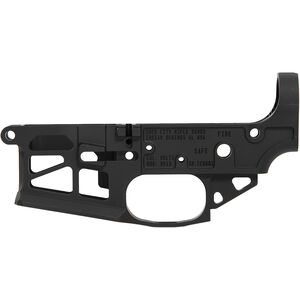Iron City Rifle Works Berserker Lite AR-15 Skeletonized Stripped Lower Receiver 5.56 NATO Lightweight Precision Engineering Aluminum Black