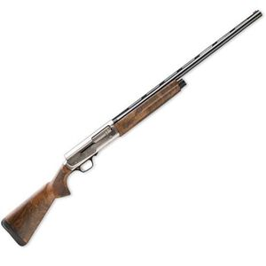 "Browning A5 Ultimate Semi Auto Shotgun 12 Gauge 26"" Vent Rib Barrel 4 Rounds 3"" Chamber Engraved Receiver Grade III Walnut Stock Blued 0118203005"