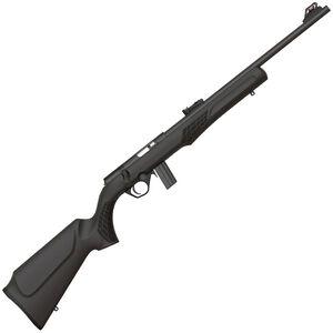 "Rossi RB22 Bolt Action Rimfire Rifle .22 LR 18"" Barrel 10 Rounds Fiber Optic Sight Synthetic Stock Matte Black Finish"