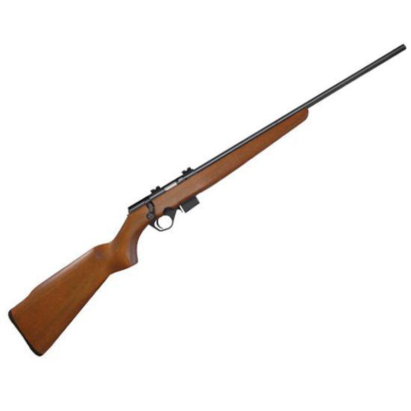 "Mossberg International 817 Bolt Action Rifle .17 HMR 21"" Barrel 6 Rounds Wood Stock Weaver Bases Blue 38180"