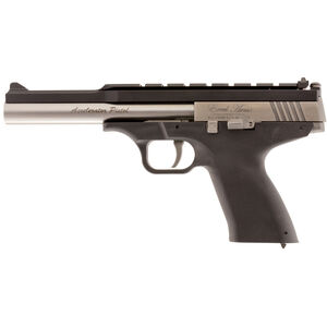 "Excel Arms MP-22 .22 WMR Semi Auto Pistol 6.5"" Barrel 9 Rounds Adjustable Sights Stainless Steel Slide Polymer Frame Black"