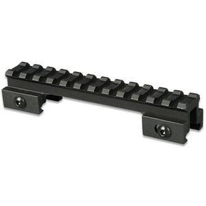 """Lion Gears AR-15 Tactical .75"""" Riser Mount 12 Slots 5"""" Long Aluminum Black BM1207"""