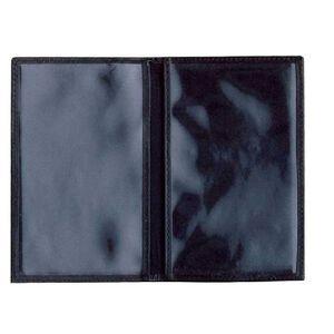 DeSantis Bi-Fold Credential Holder Leather Black