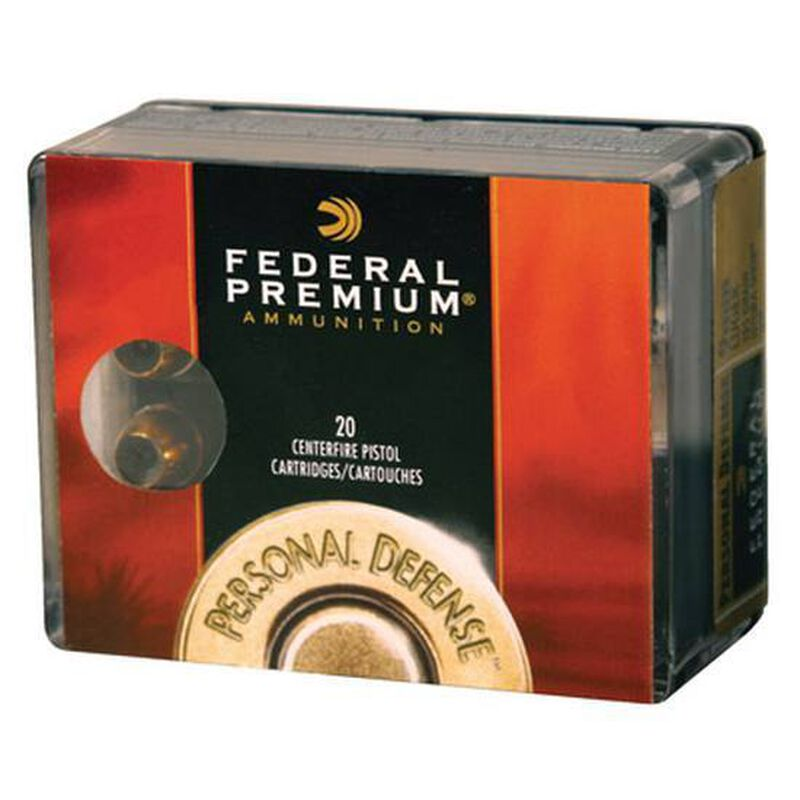 Federal .327 Federal Magnum Ammunition 20 Rounds Low Recoil Hydra-Shok 85 Grains