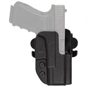 Comp-Tac International Holster fits Walther Q5 Steel Frame OWB Right Handed Kydex Black