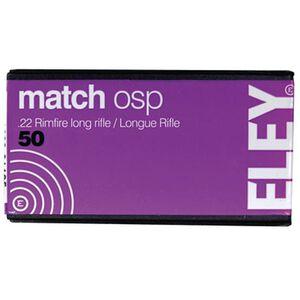 Eley Match OSP .22 LR 40 Grain RN 50 Round Box