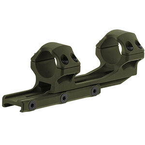 "UTG ACCU-SYNC 1"" Medium Profile 50mm Offset Pic. Rings, OD Green"
