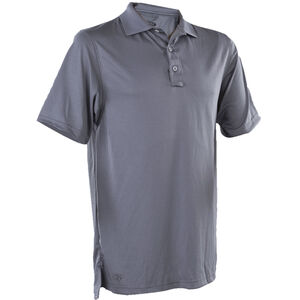 TruSpec Men's 24-7 Series Short Sleeve Performance Polo XL Steel Grey