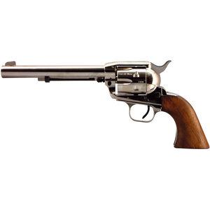 "EAA Bounty Hunter Revolver Single Action Army .22 LR/.22 WMR 6.75"" Barrel 6 Rounds Alloy Nickel Walnut"
