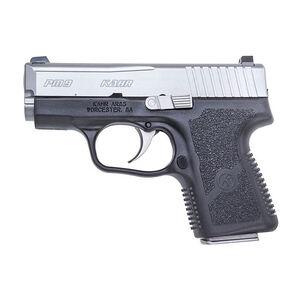 "Kahr Arms PM9 9mm Luger Semi Auto Pistol 3.1"" Barrel 6 Rounds Tritium Night Sights Black Polymer Frame Matte Stainless Steel Slide"