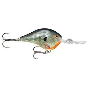 """Rapala Dives-To Series Custom Ink Lure Size 04 Length 2"""" Dives 4' Bluegill"""
